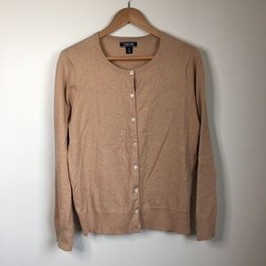 Lands end button down sweater cardigan